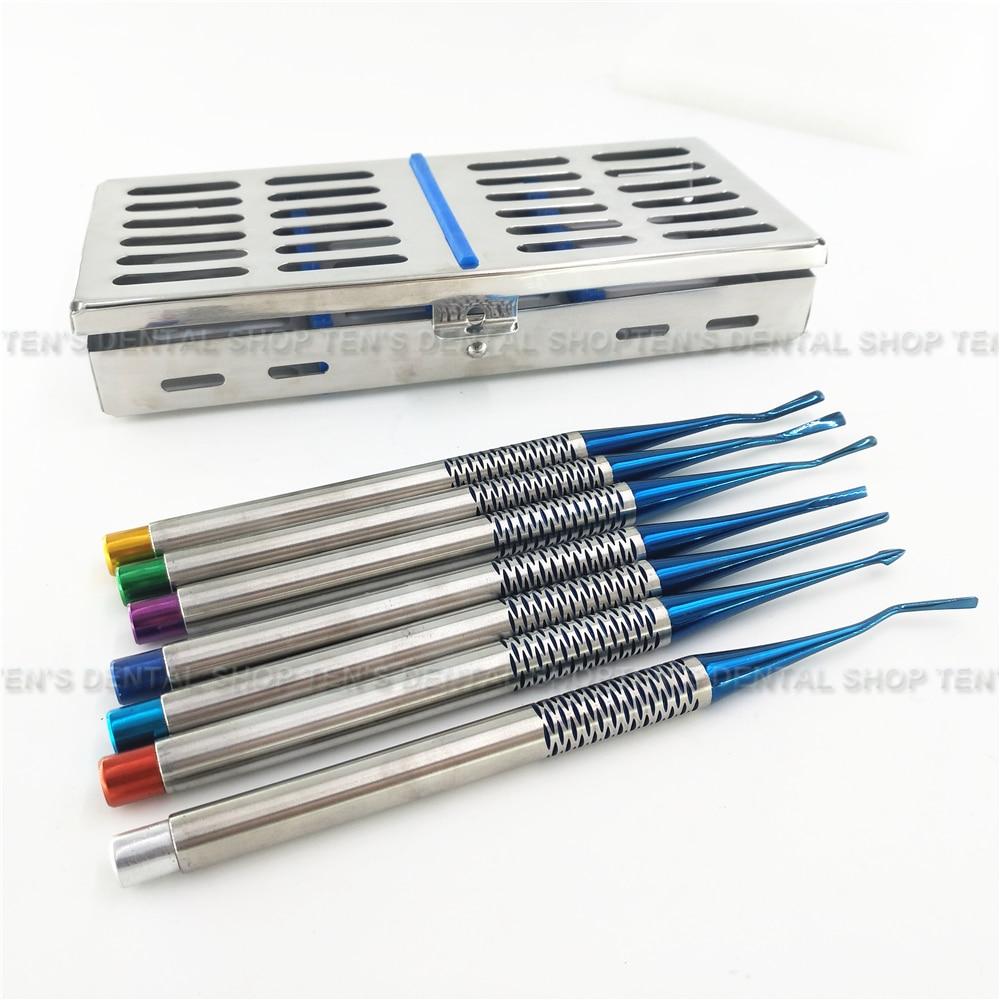 Dental minimally elevator set Titanium alloy elevator Import extraction minimally elevator extraction knife dental implant