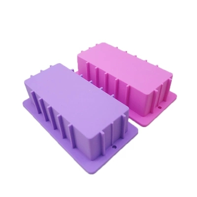 PRZY Rectangular toast mold handmade soap diy molds thick silicone mold 1100g capacity silicone pad rendering partition mould in Cake Molds from Home Garden
