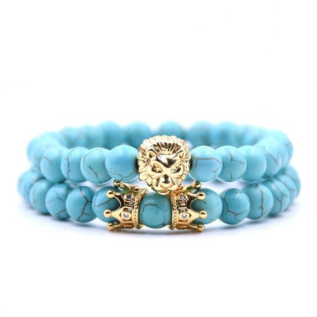2pcs/set King Lion Bracelet 4