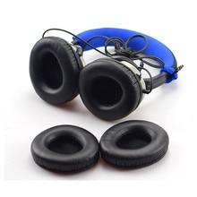 High Quality Protein Skin Foam Ear Pads Cushions Cover for Creative Aurvana Live1 Live 1 Headphones Headset Earpads