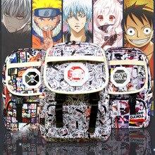 อะนิเมะ Naruto กระเป๋าเป้สะพายหลังการ์ตูนกระเป๋านักเรียนกระเป๋า Rucksack กระเป๋าหนังสือขนาดใหญ่กระเป๋าถือคอลเลกชันของขวัญเด็ก