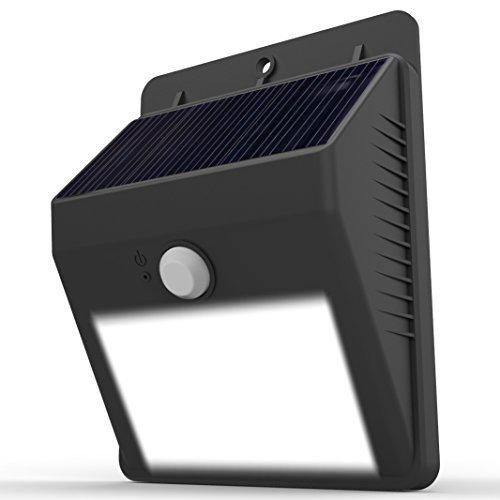 Lightinbox Seguridad cubierta Brillante Luz Del Sensor de Movimiento De Pared patio Al Aire Libre Auto On/Off-Sin Necesidad de Herramientas; Peel N Palo