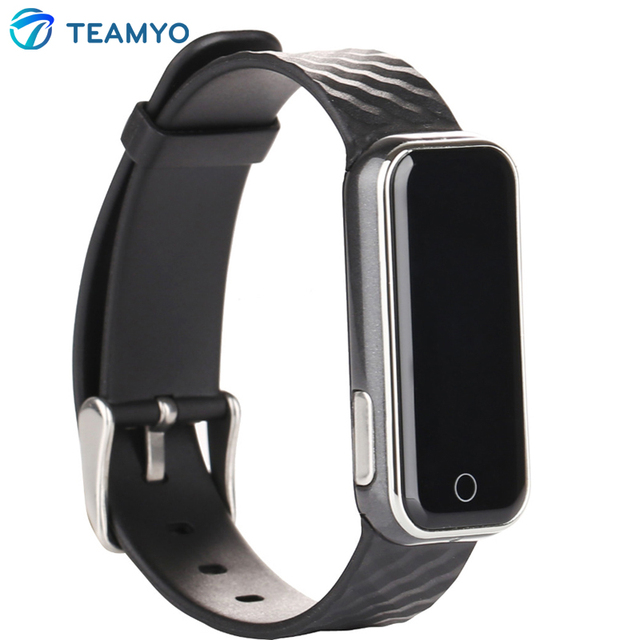 QS50 Bluetooth Smart Bracelet Watch Sync Call Heart Rate Monitor Wristband Waterproof Sleep Monitor IOS Android Fitness Tracker