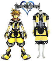 Kingdom Hearts Sora yellow Cosplay Costume Tailor Made