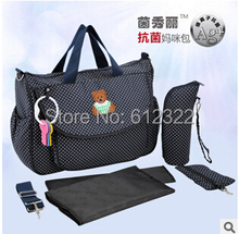 Baby Stroller Bag Large Space font b Maternity b font Bags Baby Mummy Waterproof Shoulder Diaper