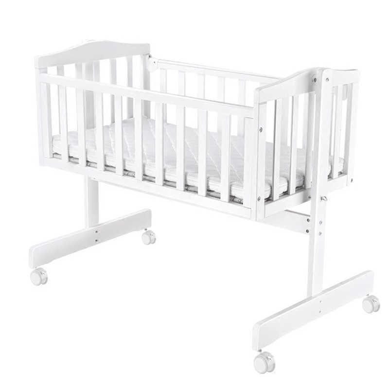 детская кроватка европейская цельная деревянная детская