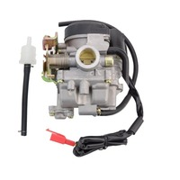 GOOFIT Carburetor For Scooter Carb GY6 50cc 60cc 80cc Chinese 139qmb Moped 49cc 60cc N090 073