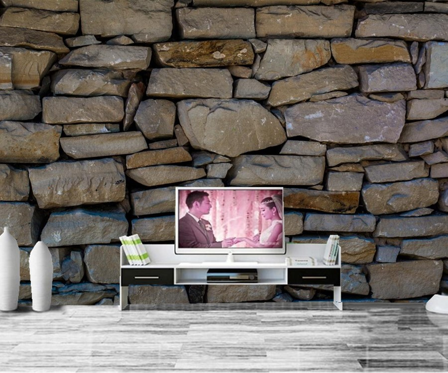 Online buy wholesale textured stone wallpaper from china for 3d wallpaper texture for bedroom