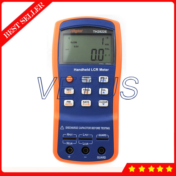 TH2822E Portable handheld Digital LCR Meter Price of 100kHz 0 1 Basic accuracy