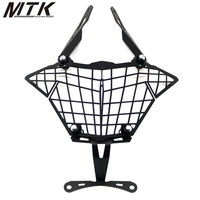 Motorcycle headlight net protection cover Anti fall protection cover for KAWASAKI VERSYS 250 300 2017 versys250/300 2018