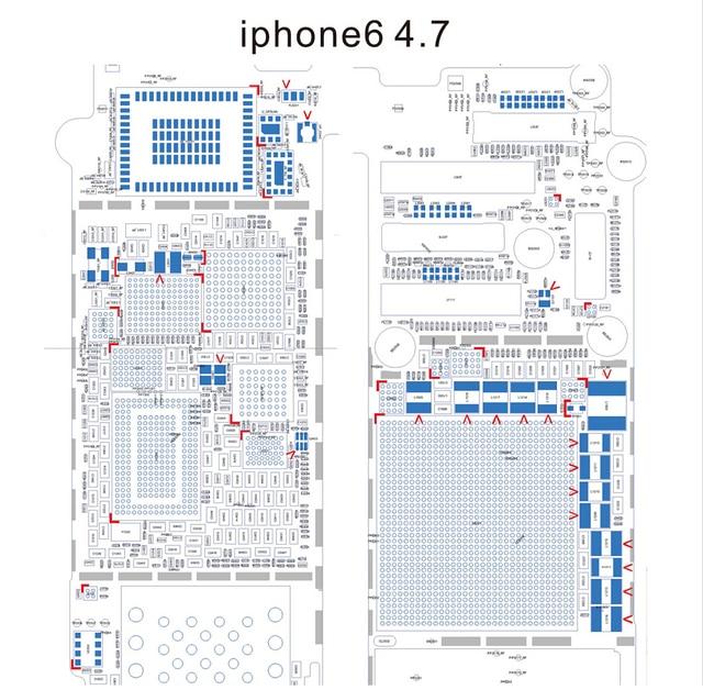 Diagrama esquemático ( investigable PDF ) para el iPhone 6 / 5S 5c ...