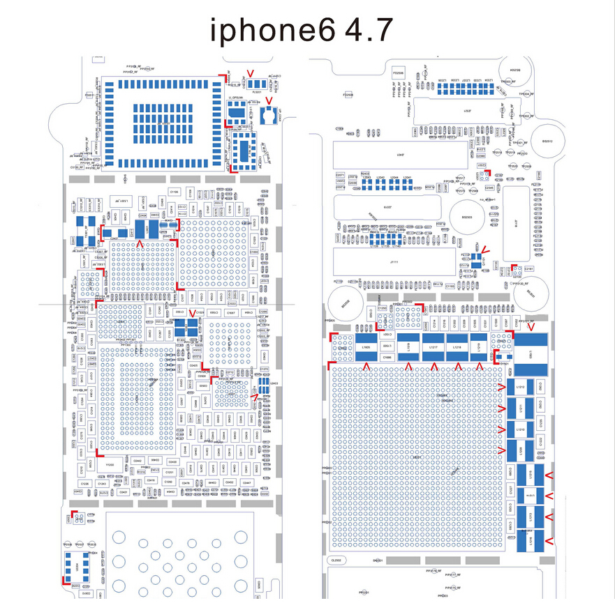 schematic diagram searchable pdf for iphone 6 5s 5c 5 4s. Black Bedroom Furniture Sets. Home Design Ideas