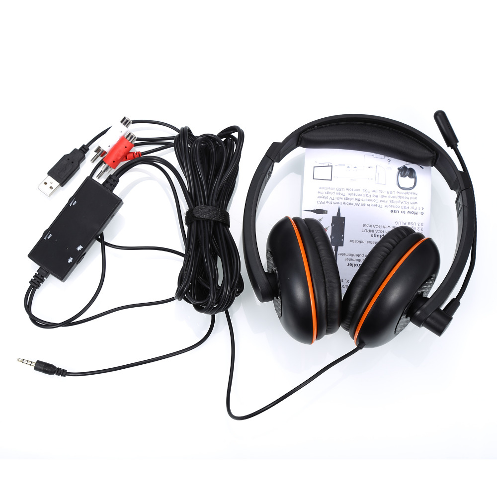 5 In 1 Game Headset Vibration Function Professional Headphone Earphone Noice Canceling With Microphone for phone PC комплект для душа am pm orange 5 режимов лейка 12 см шланг 177 см пластик латунь