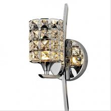 Modern K9 Crystal Wall Light Luxury Wall Lamp With Bulbs Living Room  Decorac 90-260v Appliques Luminaires Murales Lighting цена