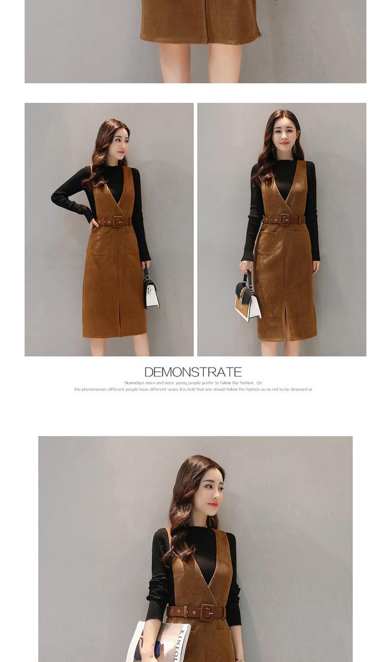 541a159f8209 ... Sleeve Korean Women Elegant Plus Size Dress. Please choose the size  according Cheeest Width and pants waist Size Skirt Length Waistline cm  inches cm ...