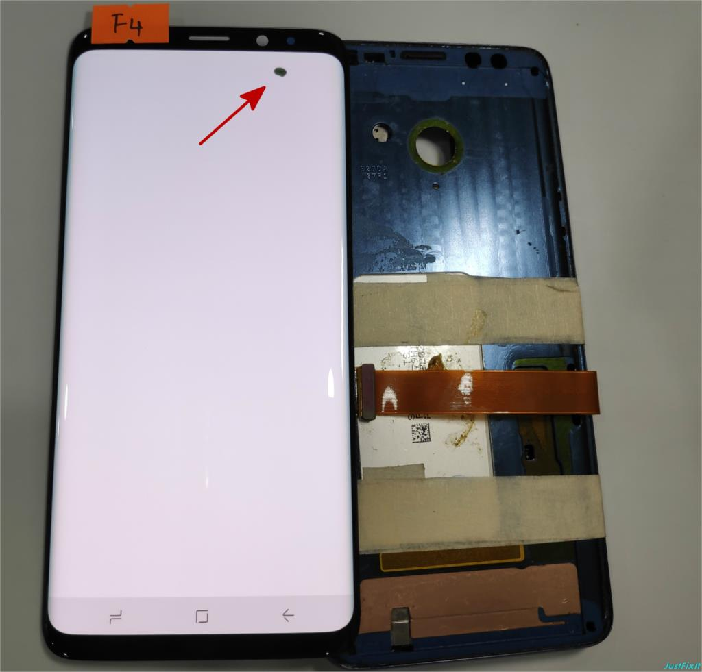 NO F4 For Samsung Galaxy S9 Plus S9 G965 G965F Defect Lcd Display With Touch Screen