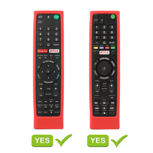 Image 4 - Remote Control Covers for Sony RMF TX300U RMT TX200U RMT TX102U RMF TX200U SIKAI Shockproof Silicone Cases Washable Red