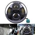 """1 UNIDS 5.75 ''40 W H4 Hi lo Faros LED 1770lm 5-3/4"""" proyector de Luz para Harley Davidson Motocicleta Envío Libre de Registro"""