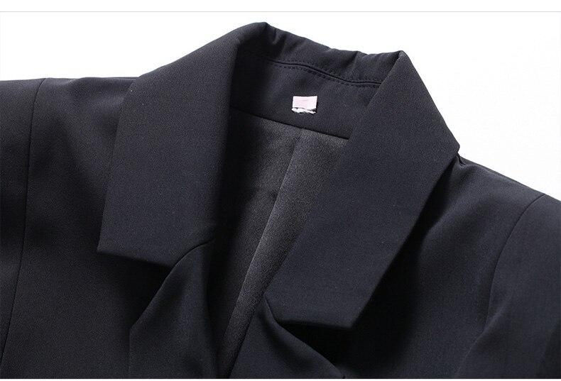 Black White Flare Sleeve Elegant Dress