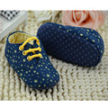Hot Sale Infant Toddler Stars Crib Shoes Soft Sole Kid Girls Baby Shoes