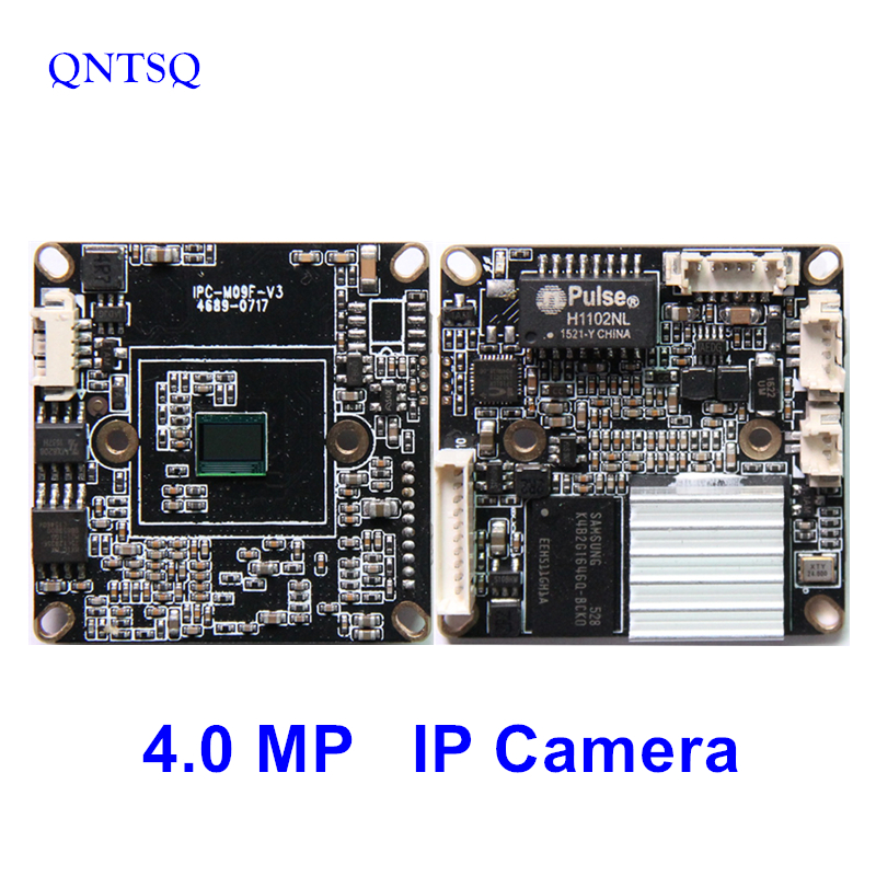 IP Camera 4MP,OV4689+3516D CMOS IP Camera Module,IP PCB board DWDR+ONVIF