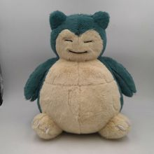 Anime Games Pikachu series new 30CM detective Snorlax plush toy stuffed toys A birthday present for children