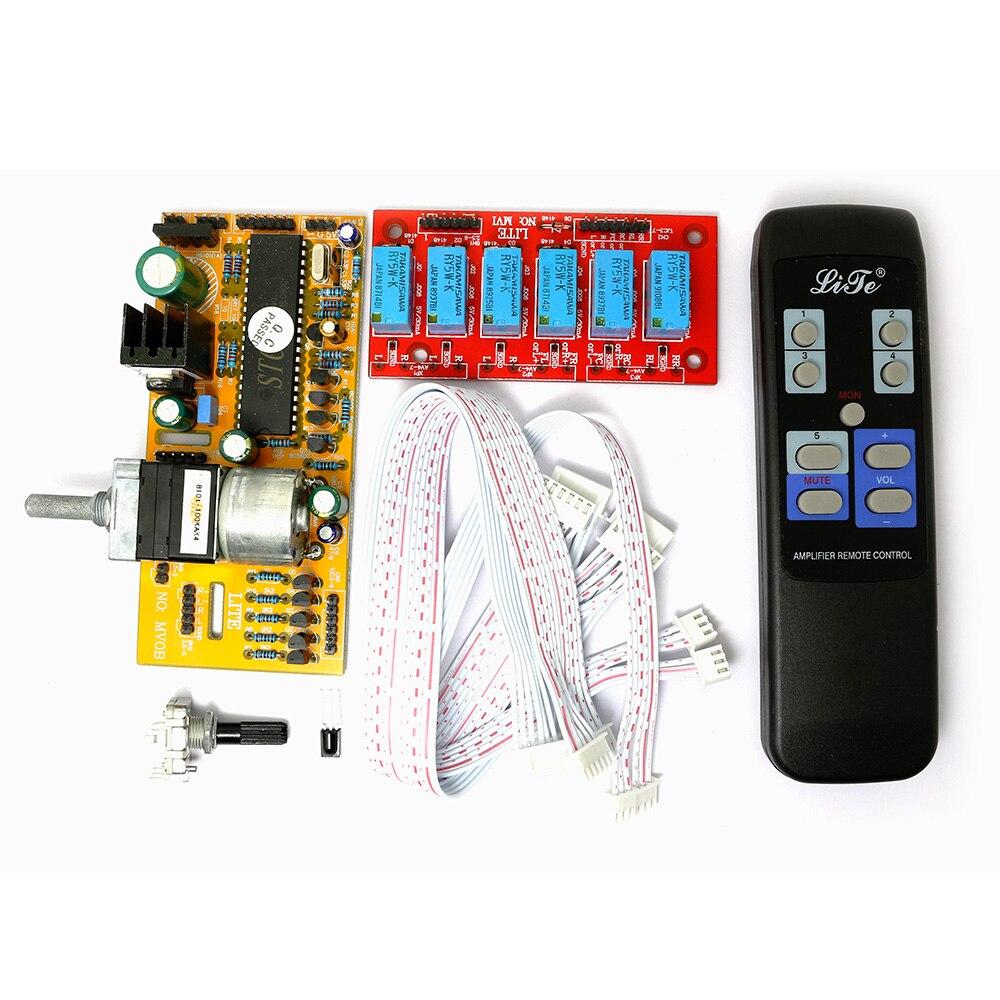 MV04 Quadruple ALPES Motorisé Télécommande + Entrée Potentiomètre 9-12 V AC