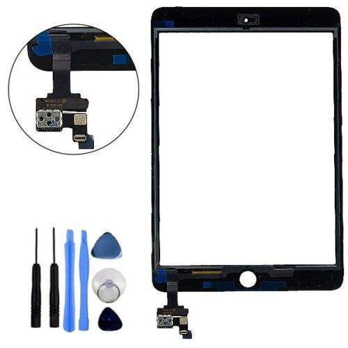Für iPad Mini 1 & 2 Glas Digitizer Touchscreen IC Chip Flex Montage zurück oder weiß replacment nicht original
