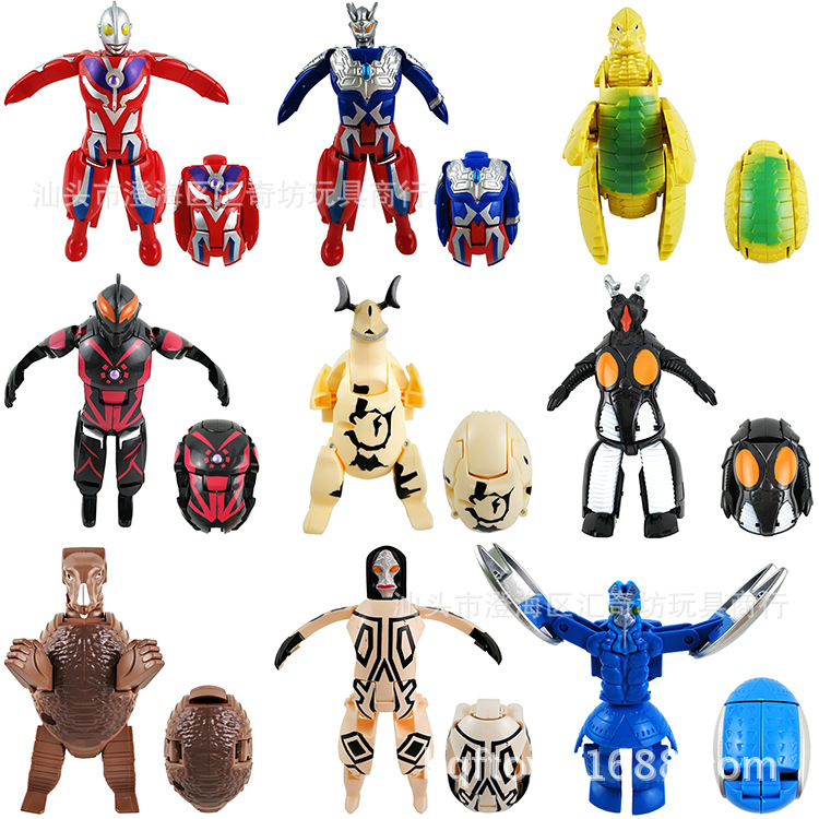 Sell Like Hot Cakes 13cm Plastic Ultraman Monster Egg Zero Belial Gomola Furnishing Articles Model Children's Toys Holiday Gifts 6 piece 10 14cm super mario action figure evade glue fair young car furnishing articles model holiday gifts ornament box packed
