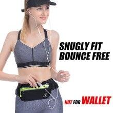 2pcs running bag waist bag waterproof jogging running waist bag for 5.5  6.5 inch phones Running Case cell phones