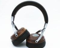 DIY Pure Handmade Custom Solid Wood Big Headset 50MM Unit Dynamic Studio Monitor Headphones Deep Bass
