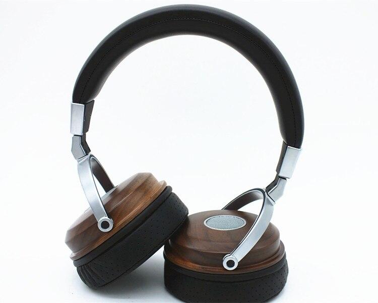 DIY pure handmade custom solid wood Big headset MM unit Dynamic studio