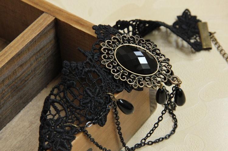 HTB13mmkHVXXXXXGXXXXq6xXFXXXi Vintage Gothic Tiered Chain Choker Jewelry With Crystal Pendant