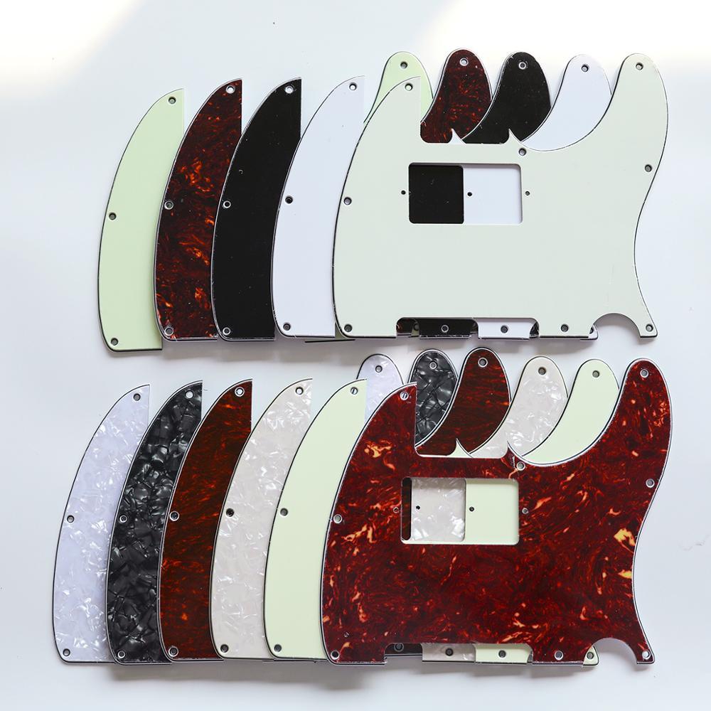 Musiclily 8 Buraco Tele Guitarra Pickguard HH Humbucker para EUA/Mexicano Feito Padrão Fender Telecaster Estilo Moderno