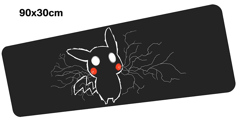 Pokemons mousepad gamer 900x300X3MM gaming mouse pad large HD print notebook pc accessories laptop padmouse ergonomic mat