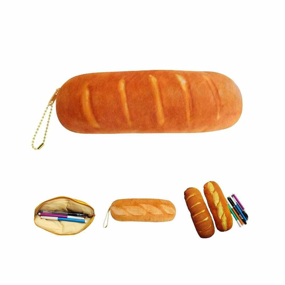 3D Сумка-монетница пенал прозрачный кошелек имитация хлеба сумка креативный кошелек и держатель для карт монета
