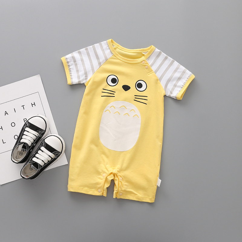 Romper do Bebê Impressão 2018 Baby Girl Roupas