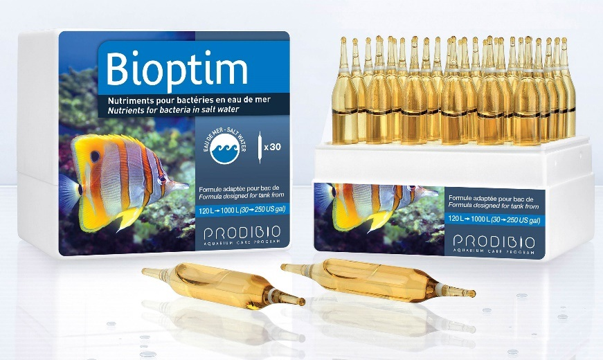 PRODIBIO Bioptim nutrients for bacteria in saltwater for aquarium fresh water marine reef coral SPS LPS