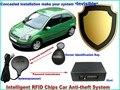 Nova marca frete grátis 12 Tensão de ignição do carro anti roubo cortar RFID sistema de alarme de carro imobilizador