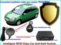 brand new free shipping 12Voltage anti theft car ignition cut off RFID immobiliser car alarm system