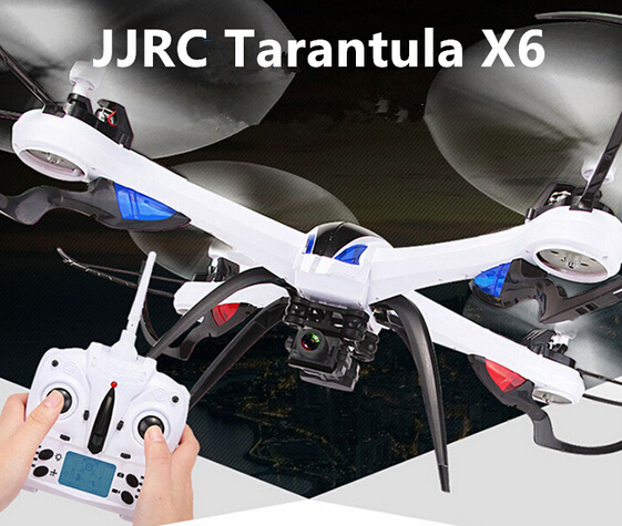 JJRC H16 Tarantula X6 4CH RC Quadcopter Support 2MP and 5MP Wide-Angle Camera 2.4GHz RTF With IOC original jjrc h28 4ch 6 axis gyro removable arms rtf rc quadcopter with one key return headless mode drone