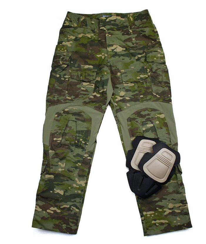 G3 Combat Pants Multicam Tropic Pants NYCO CVC Fabrics Military Pants With Knee Pads+Free shipping(STG050666) tmc l9 tactical combat pants multicam with knee pads original multicam fabrics free shipping sku12050812