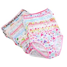 Baby Girl Underwear Cotton Short Briefs Cartoon Children Panties Colorful Lovely(China)