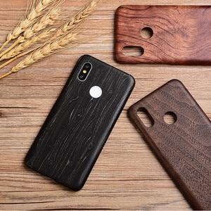 Image 4 - Per Xiaomi Mi 11 /POCO F3 F2 /mix 2s/mix 3 /mi 10 /9T/K40 Pro noce enonia legno bambù palissandro mogano Cover posteriore in legno