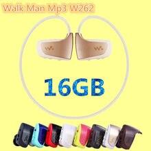 Nueva Alta calidad NWZ-W262 16 GB deporte reproductor de música MP3 para sony caminar hombre correr reproductor de mp3 16 GB auriculares mp3 auricular de la venta caliente