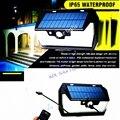 55 LED 900лм Солнечный свет с дистанционным управлением радар смарт 3 боковых светодиодных светильника уличная настенная лампа двора лагеря га...