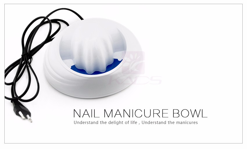 manicure embeber soaker tigela polonês removedor tigela