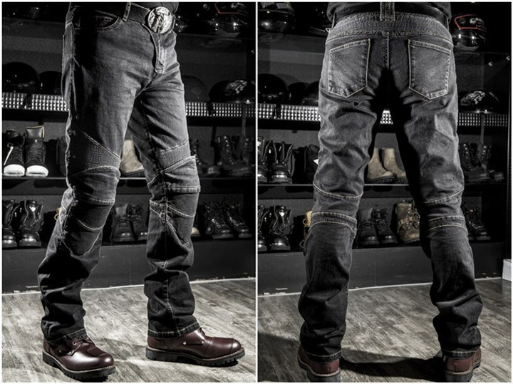 2017 High quality komine motorcycle jeans drop resistance slim denim jeans automobile race pants motorcycle pants plus size XXXL цена