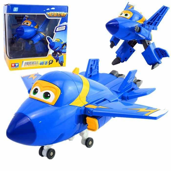 100% Brand New 15 CM Super Ali Giocattoli Mini Aerei Trasformazione robot Aereo Robot Action Figures Giocattoli Per Il regalo Di Natale