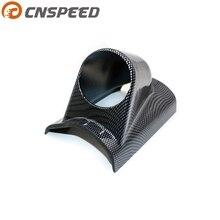 """"""" 52 мм Манометр держатель углеродный черный стиль одиночный Манометр Pod пластиковый измерительный прибор поддержка для левостороннего привода YC101029"""